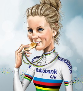 pauline ferrand prevot illustration ROADRACE