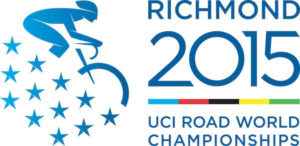 Richmond 2015 has a new logo for the September 2015 world championship bicycling event. Courtesy of Richmond 2015. Logo designed by The Martin Agency