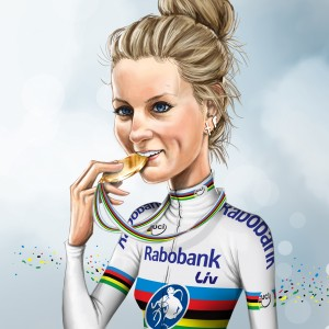pauline ferrand prevot illustration CYCLOCROSS