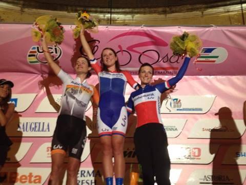 Prologue Giro Rosa : une entrée en matière réussie pour les Rabo-Liv Women Cycling Team