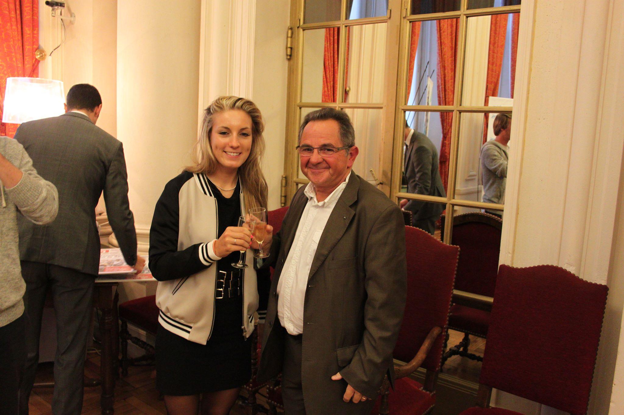 Pauline à l'honneur à la mairie de Reims !