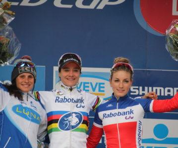 Coupe du monde à Heusden-Zolder : Le podium pour Pauline !