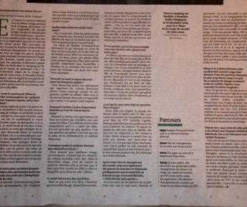 "Journal ""Le Monde"" du samedi 3 janvier 2015"