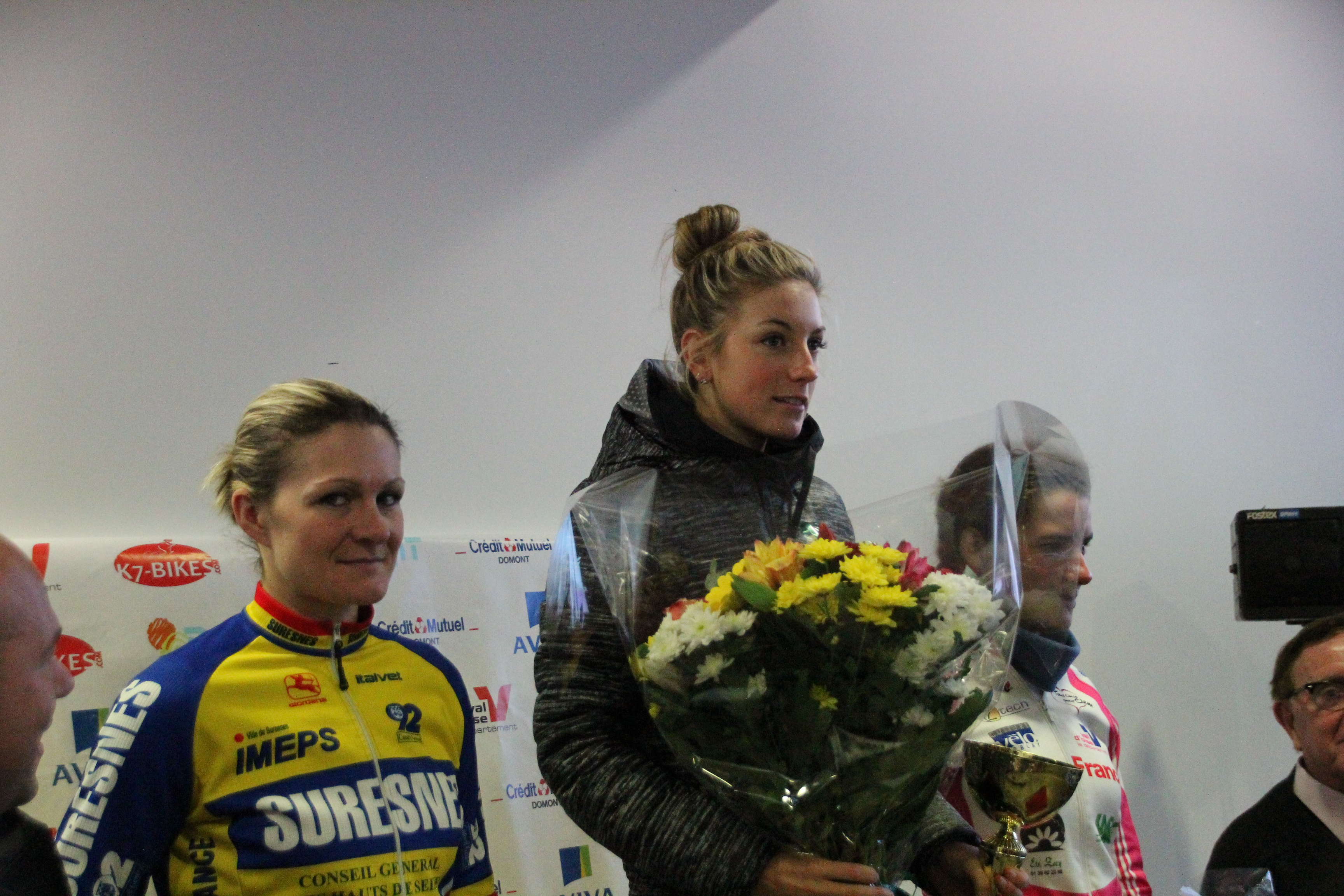 Pauline remporte le cyclo-cross de Domont