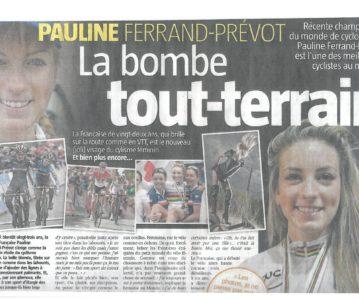 """Très bel article paru dans """"La Meuse"""" en Belgique"""