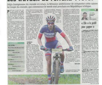 """Journal """"L'UNION"""" du 21 mai 2015"""