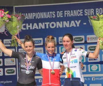 23 ème titre de championne de France pour Pauline !