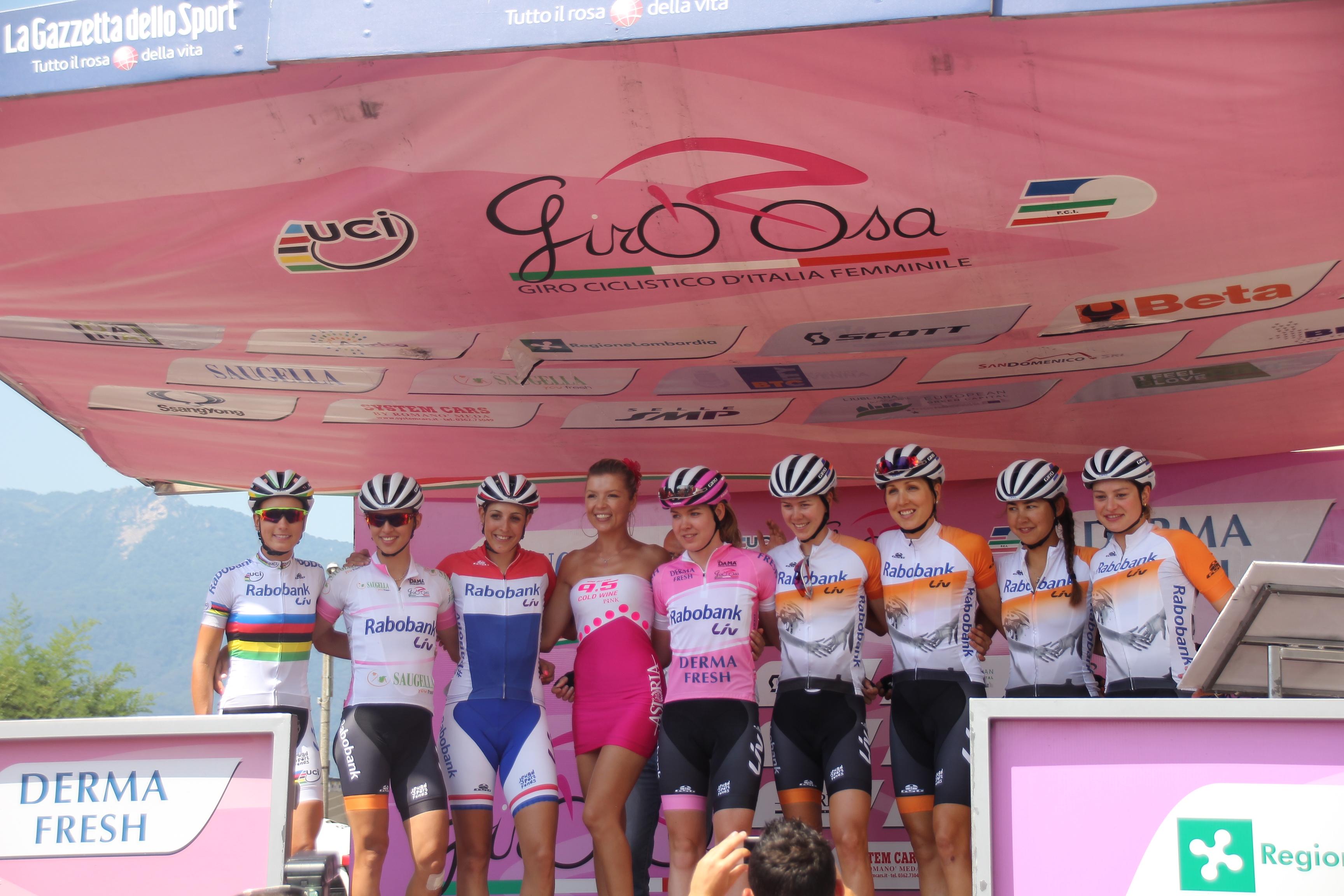 Giro Rosa – 9ème étape : Verbania – San Domenico