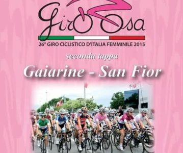 Giro Rosa – 2ème étape : Gaiarine – San Flor