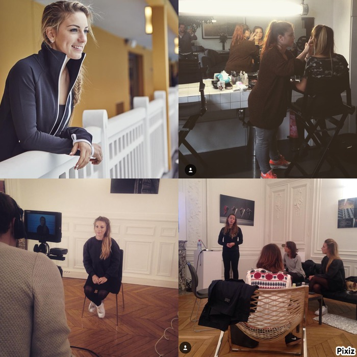 Shooting photo et interviews chez Nike…