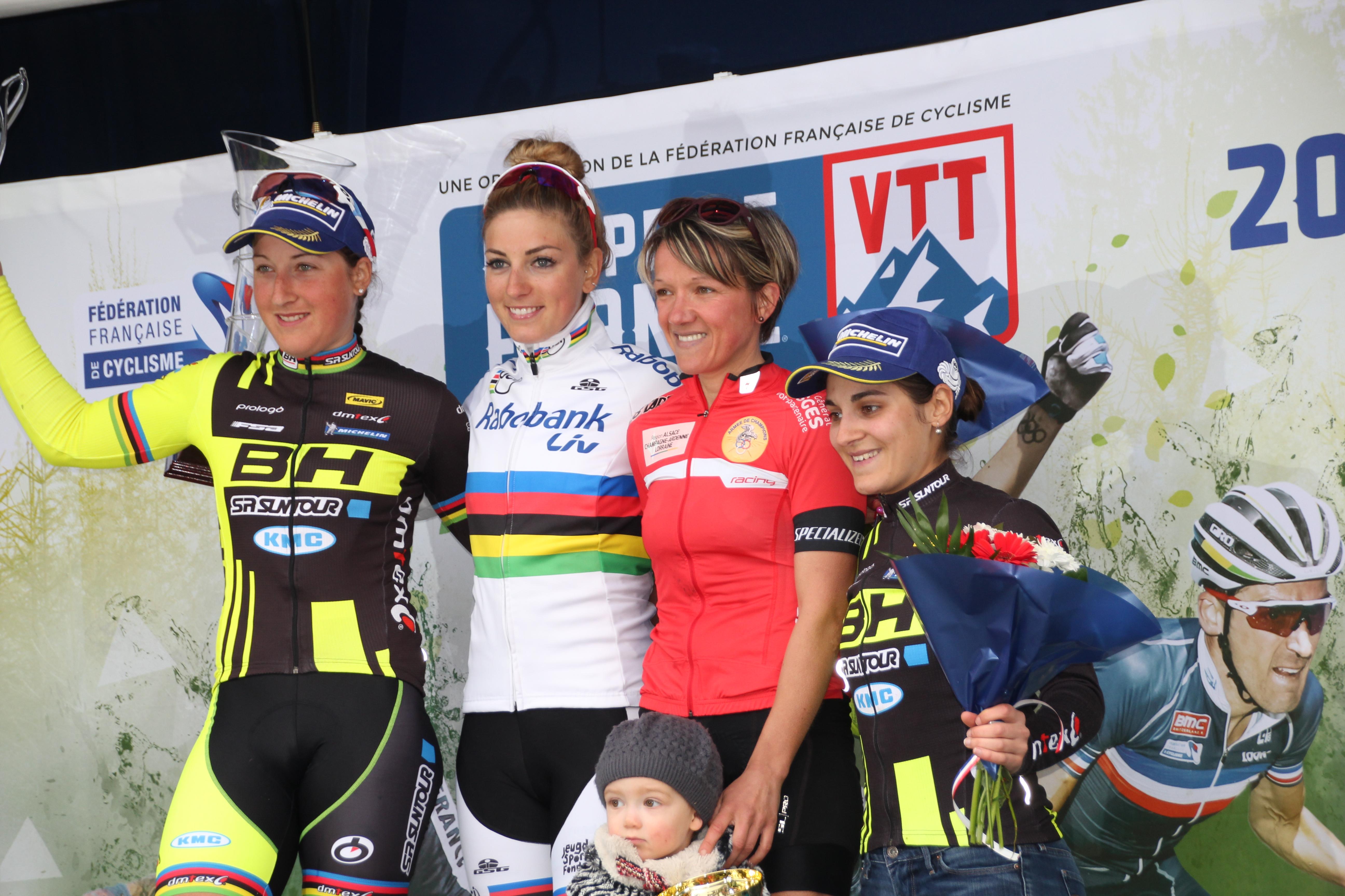 Première victoire de la saison lors de la coupe de France VTT