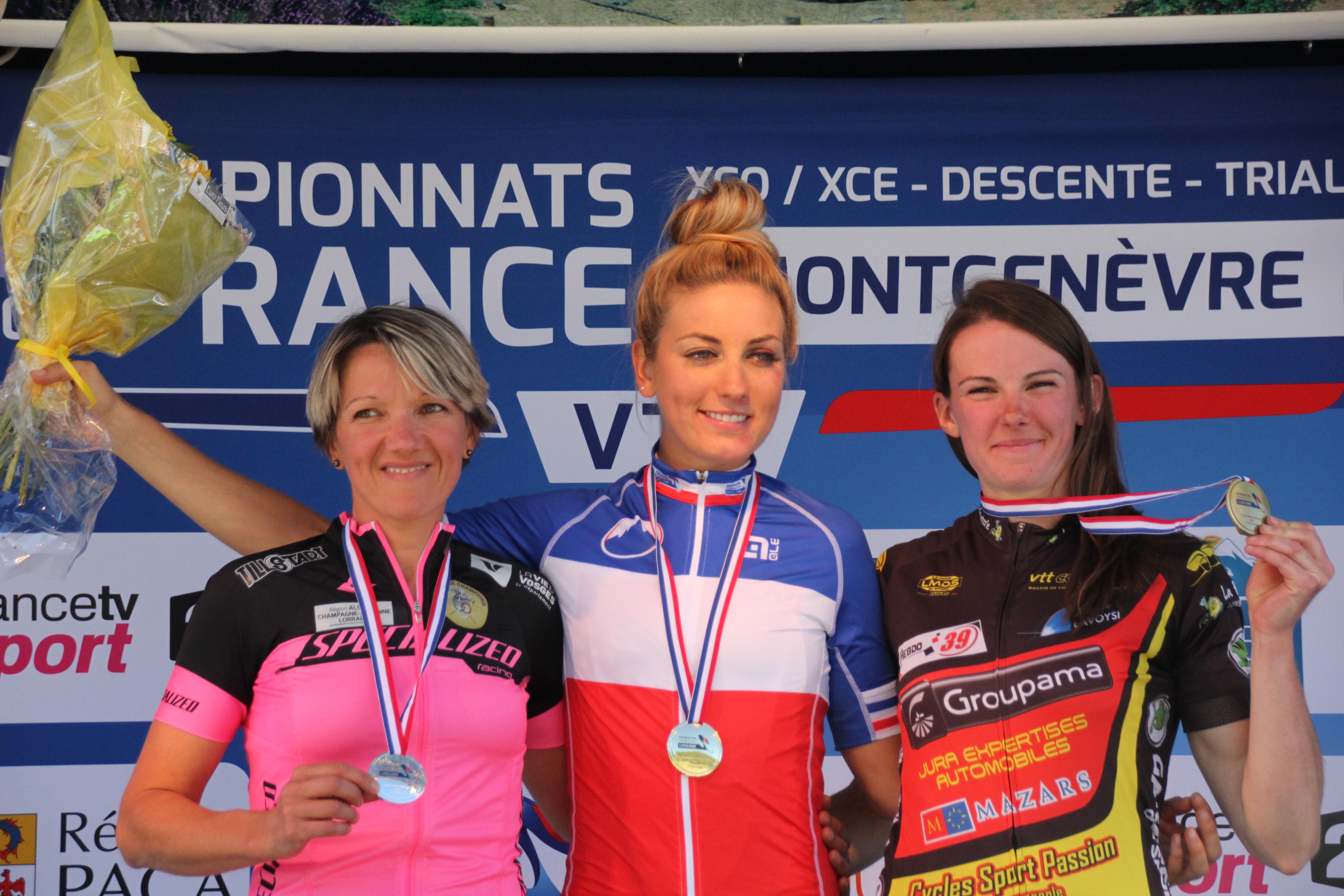 Championnats de France VTT… Pauline conserve son titre !