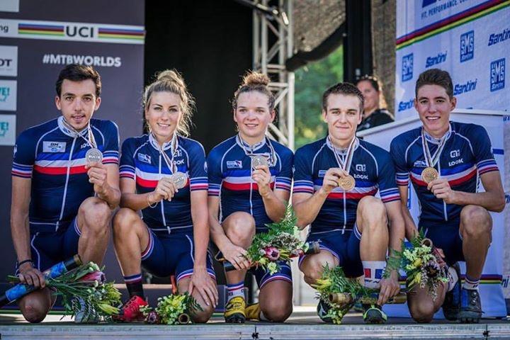 Médaille de bronze pour l'équipe de France