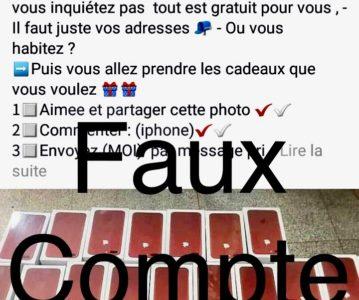 ATTENTION AUX FAUX COMPTES FACEBOOK