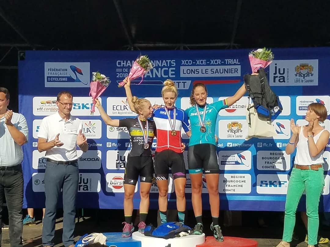 Nouveau titre de championne de France VTT pour Pauline